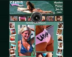 Candid Bikini Beach