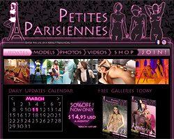 Erotic naked parisian
