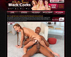 White Teens Black Cocks